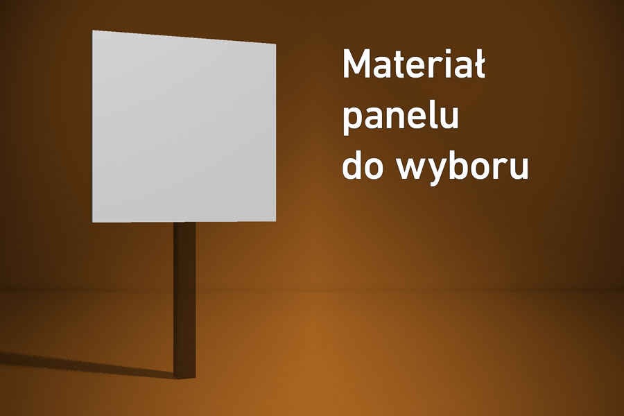 Panel o wymiarach 40×40 cm Materiał do wyboru*