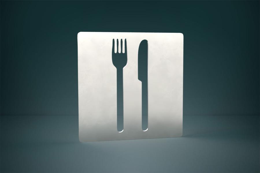 Piktogram gastronomia