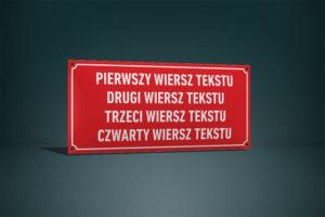 Tablica urzędowa 35×75 cm