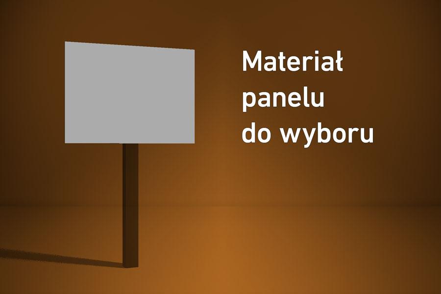 Panel o wymiarach 30×10 cm Materiał do wyboru*