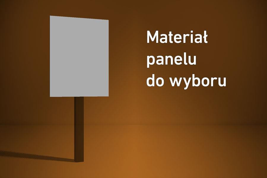 Panel o wymiarach 20×40 cm Materiał do wyboru*